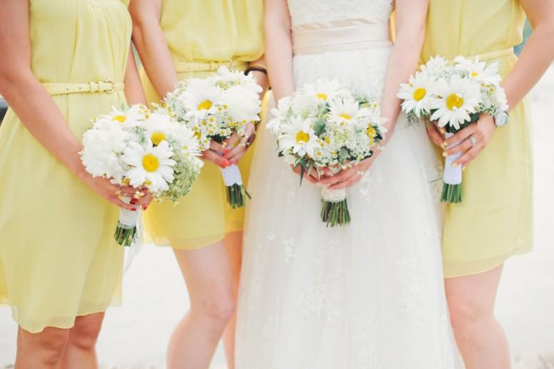 Ромашковая свадьба 9 годовщина свадьбы