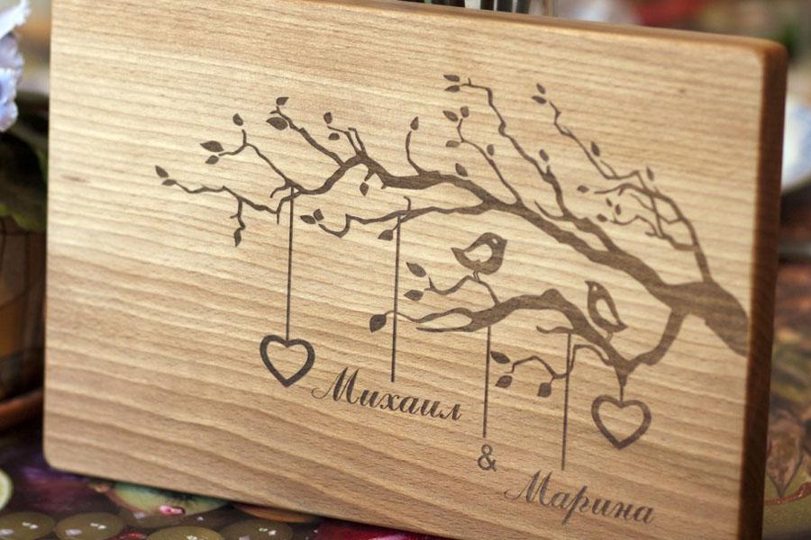 Подарок из дерева для жены 846