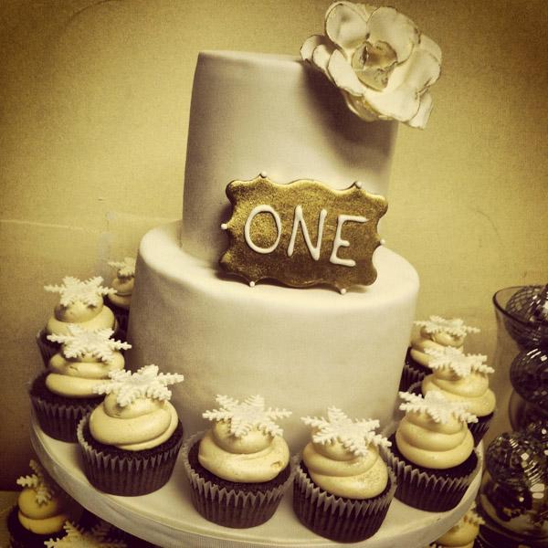 Торт на 1 год садьбы торт с кексами