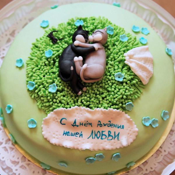 Романтический торт