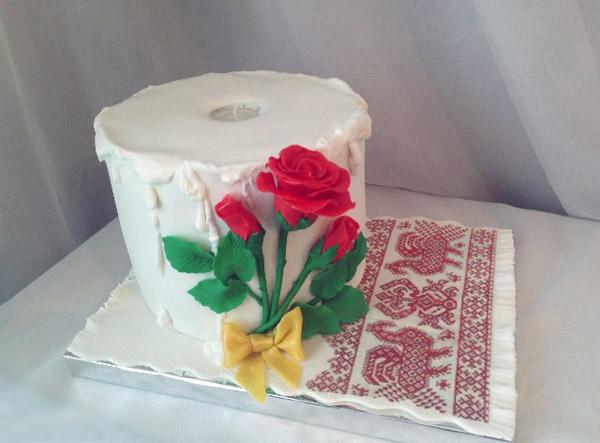 Туалетная бумага 2 годовщина