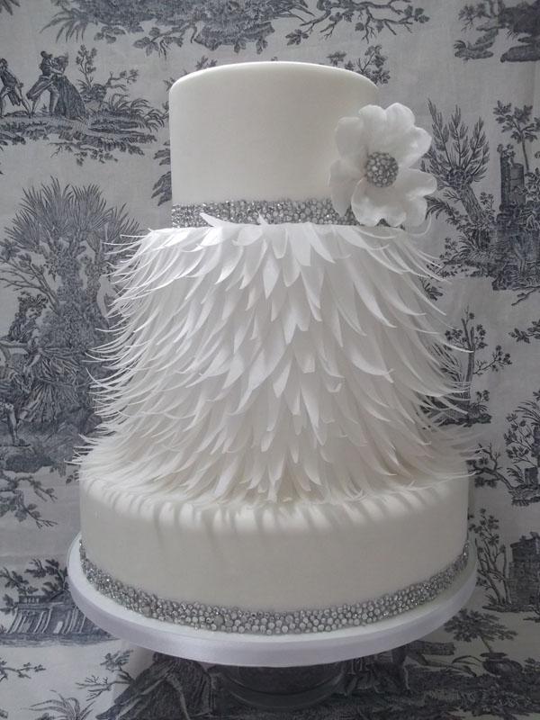 Торт с использованием съедобной бумаги (сахарной)