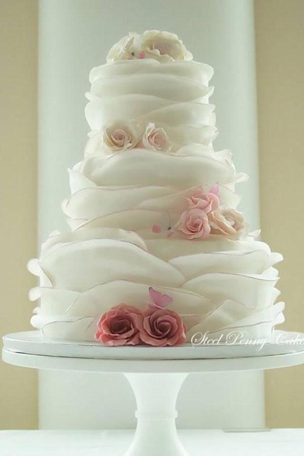 Торт лепестки