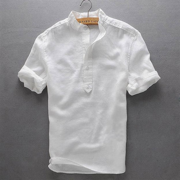 Рубашка из льняная для мужа