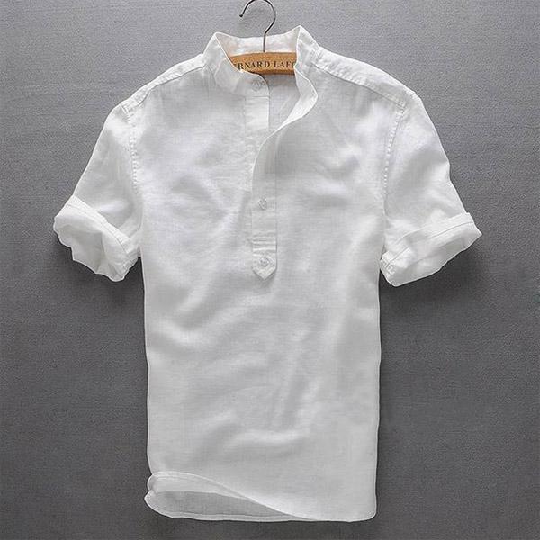 Рубашка из льная для мужа