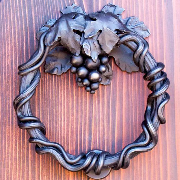 Дверной молоток для входной двери из чугуна