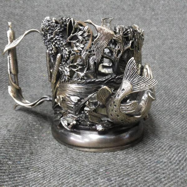 Подставка под стакан кружку из чугуна или металла