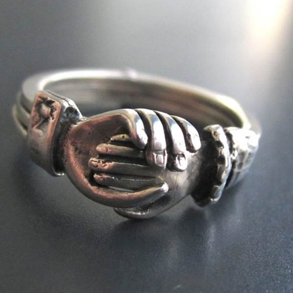 Кольцо обручальное под чугун (чугунное)