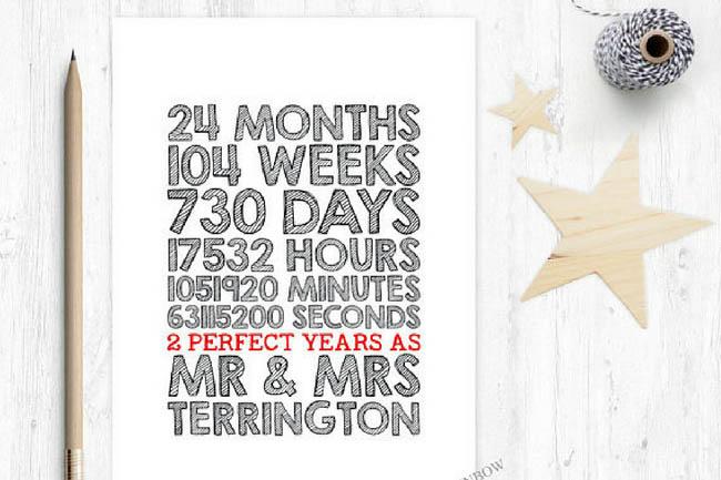 Картинка 2 года свадьбы месяца, дней, часов, минут