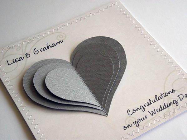 Картинка 2 года свадьбы сердце