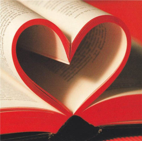 2 года вместе сердце в книге