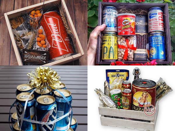 Пиво в наборе в подарок