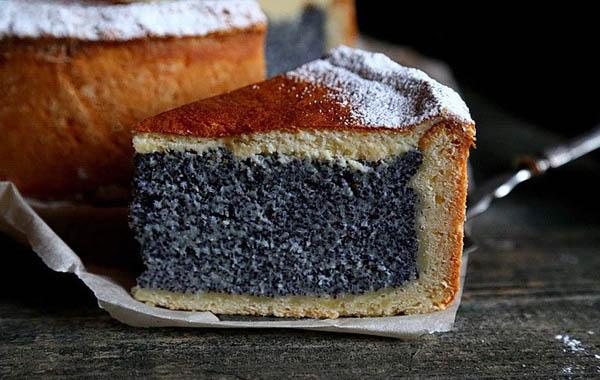 Маковый пирог на 8 годовщину