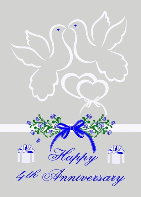 Картинка на 4 года голуби