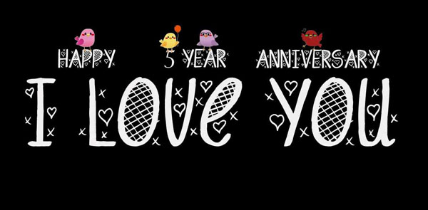 5 счастливых лет в браке