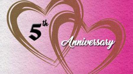 5 лет розовая свадьба
