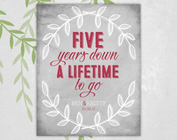 5 лет брака вместе навсегда