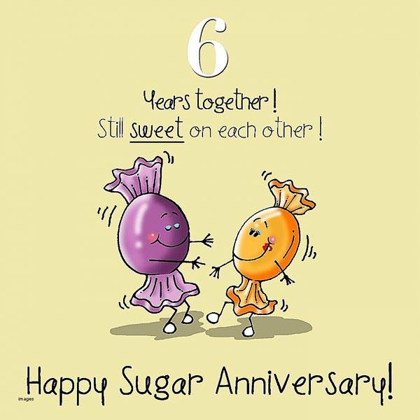 Картинка на 6 лет совместной жизни танцы конфет