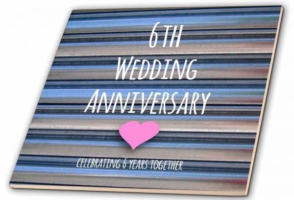 Картинка на 6 лет свадьбы книга