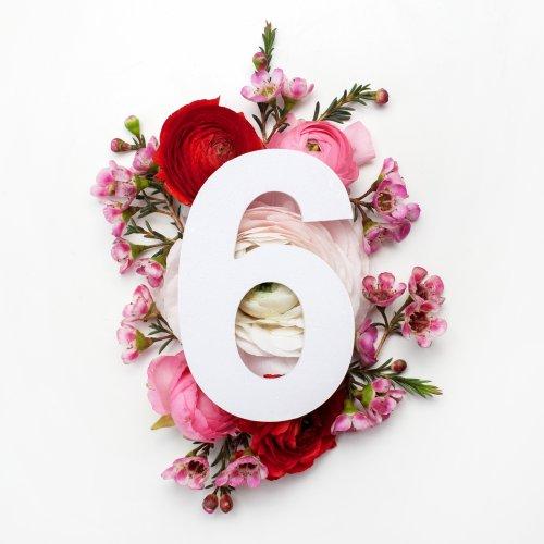 Картинка на 6 лет свадьбы цветы