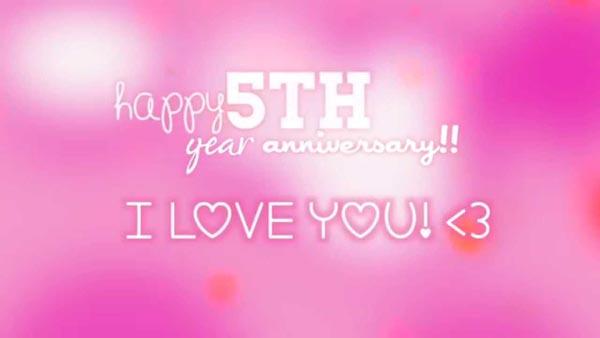 Любим 5 лет друг друга