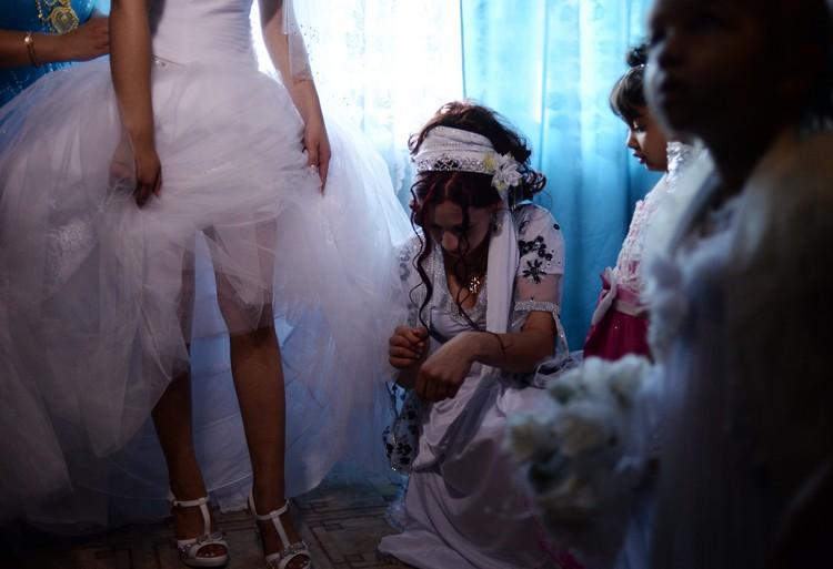 первая брачная ночь у цыган