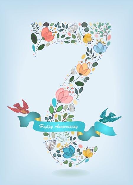 7 из цветов