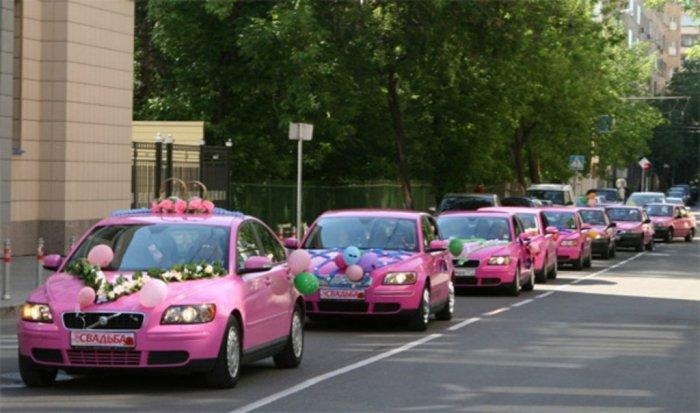 Заказ свадебного кортежа из автомобилей бизнес класса в Краснодаре