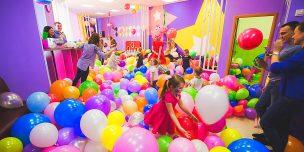 Оформление воздушными шарами детских праздников